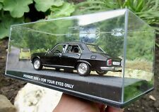 007 JAMES BOND French Peugeot 504 - For your Eyes Only - 1:43 BOXED MODEL CAR