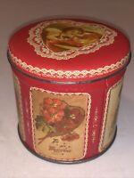 """Vintage 3.5"""" Valentine Tin"""