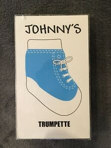 New Johnny's Trumpette Baby Socks Blue Size 0-12 Months