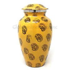 Large Aluminium Ashes Container Adult Funeral Urn