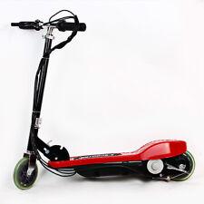 Elektroroller  Mini Bike 14km/Std,E-Scooter Roller Motor 100W, rot