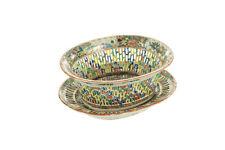 Chinese 18th century Chin Fruit Basket -Rose Medallion Porcelain c1790