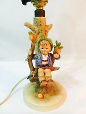 "Vintage Goebel M.I. Hummel Lamp ""BOY IN APPLE TREE"" #230 RARE!"