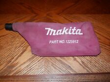 Makita Dust Bag 1225912 For Use With 9920, 9903, 9404 Belt Sanders Free Shipping