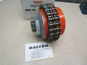 "Dalton Torque Limiter OSDC 450 1-3/8"" Bore 1-1/2"" Coupling"