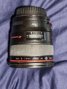 Canon 24mm 1.4L II Lens