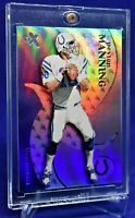 PEYTON MANNING E-X HOLO REFRACTOR RAINBOW SP RARE HALL OF FAME 2020 HOT