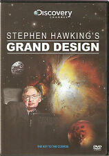 Stephen Hawking - Grand Design - The Key To The Cosmos - DVD - BRAND NEW SEALED