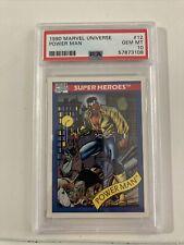 1990 Marvel Universe Power Man #12 PSA 10 RARE!