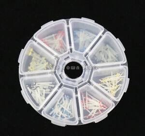 NEW 200 Pcs Dental Fiber Post Glass Quartz Teeth Restorative 1.2 1.4 1.6 1.8mm