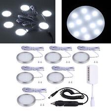 8df6fe06d3 6X 12V LED Interior Spot Lights Lamps For VW T4 T5 Transporter Camper Boat  Car