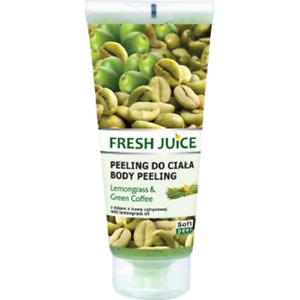Fresh Juice Körperpeeling LEMONGRAS & GRÜNER KAFFEE