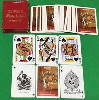 Old Vintage Goodall DEWAR'S WHISKY Advertising Art Wide Playing Cards SCOTSMAN