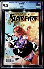 Starfire #6, Lupacchino Looney Tunes variant cover w/ Pepe Le Pew! CGC 9.8