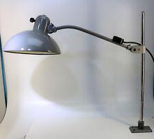 Vintage Kaiser IDELL Werkstatt Lampe 6732 Super grau, restauriert - 20315 –