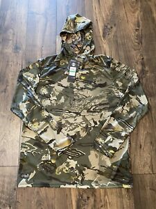 Under Armour IsoChill Brush Line Hoodie Realtree Timber Forest Size L 1348428