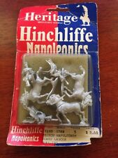25mm Heritage Hinchcliffe FRENCH Napoleonics #2140 GUARD LANCER CHARGING FIGURES