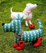 SALLY & SMITH - Sewing Craft PATTERN - Dachshund Terrier Dog Puppy Pattern