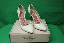 Juicy Couture Khrystal White Women's High Heel Size 10