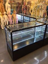 Shop Counter Set Retail Display Counters Glass Showcase Storage Shelves Corner