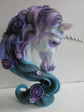 Fabulous 'Pure Elegance' Mythical Unicorn Bust by Nemesis Now Boxed Perfect