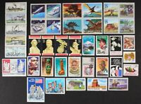 US 1989 Commemorative Year Set 40 stamps incl Airmails + $2.40 Moon Landing MNH