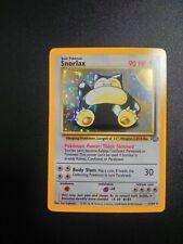 Pokemon Snorlax Holo Jungle 11/64