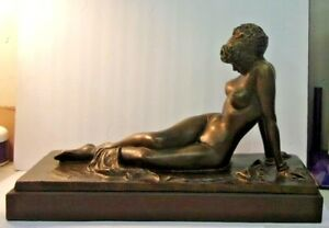 AUTHENTIC REPRODUCTION Copyrighted by Alva Museum Nude ARIADNE by Bernhard