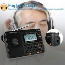 Retekess V-115 Portable AM/FM/FM Radio with Sleep Timer Bass Sound MP3 Player TF