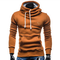 New Men's Winter Hoodies Slim Fit Hooded Sweatshirt Outwear Sweater Coat Jacket