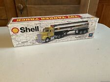 Vintage Formula Shell Tanker Model Toy Truck In Box Collectible Decor Display