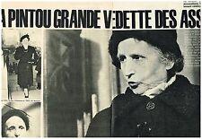 B- Coupure de presse Clipping 1961 (6 p)) Affaire Marie Besnard.Mme Pintou 27617