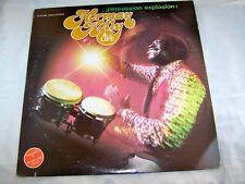Herman Kelly 'Percussion Explosion' Vinyl LP original US 1978 album latin funk