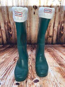 Hunter Rain Boots - Size 9 -