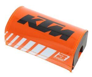 Paracolpi manubrio tapered KTM blackbird moto cross enduro crystall arancio