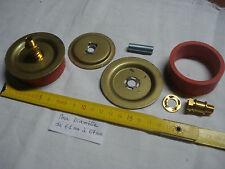 1 adaptateur 60 mm extensible pour vase, potiche, en caoutchouc et laiton