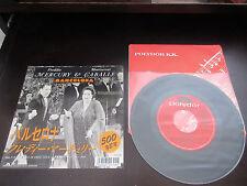 "Freddie Mercury Montserrat Caballe Barcelona Japan Vinyl 7 inch Single Queen 7"""