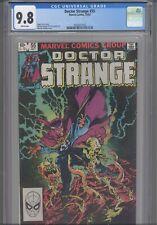 Doctor Strange #55 CGC 9.8 1982 Marvel Comics Terry Austin Art