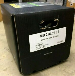 20L Mercedes-Benz Low Ash - Saps Engine Oil MB228.51 Vito/Sprinter/Citan - 5W30