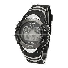 OHSEN Mens Teen 7 Modes Light Date Alarm Sport Run Digital Quartz Wrist Watch