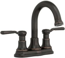 KOHLER Worth 4 in. Centerset 2-Handle Bathroom Faucet in Oil Rubbed Bronze