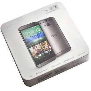 BINB HTC One M8 16GB Gunmetal Gray Factory Unlocked Genuine Simfree 2G 3G 4G