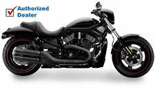 Supertrapp Black Slip-On Mufflers Eaxhaust Pipes Harley Street Night V-Rod