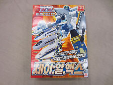 Transformers 2000 Takara RID Car Robots JRK C-015 Train Gift set Rail Racer new