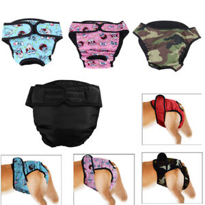 Large Female Dog Pet Diaper Pants Puppy Physiological Sanitary Panty Nappies