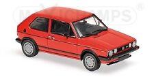 MAXICHAMPS - 940-055170 VOLKSWAGEN GOLF MK1 GTI  RED  19831:43 SCALE