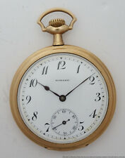 Filled Pocket Watch to Fix 17J Howard Mens Antique 12s Gold