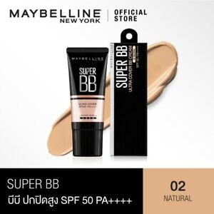 MAYBELLINE SUPER COVER BB MINERAL GUARD FILTER SPF 50 PA++++ 02 NATURAL