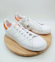 Adidas Stan Smith Mens Size 12 EE5793 Cloud White Semi Coral Athletic Shoes