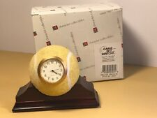 Character Collectibles Tennis Ball Clock Game Set Match Yellow Mantle Nib New